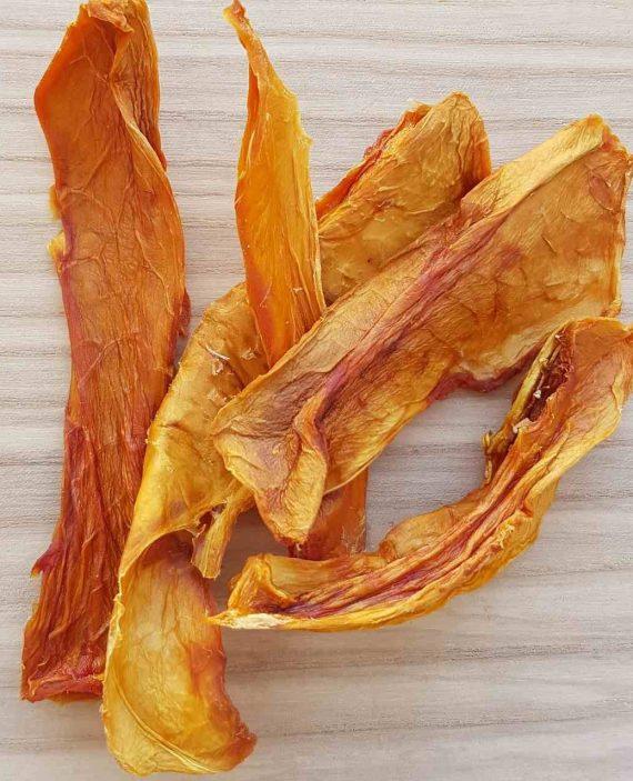 Džiovintos papajos juostelės